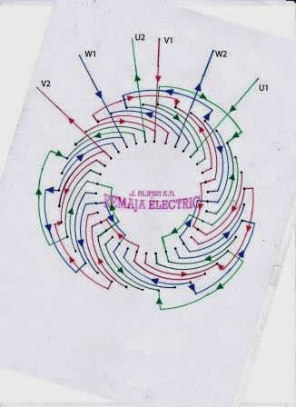 Electrical Winding Wiring Diagrams June 2014