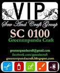 Sew and Craft VIP card