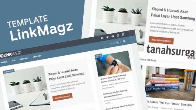 LinkinMagz V2.1 Responsive Blogspot Template  - Responsive Blogger Template