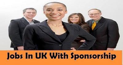 Jobs in UK with Sponsorship
