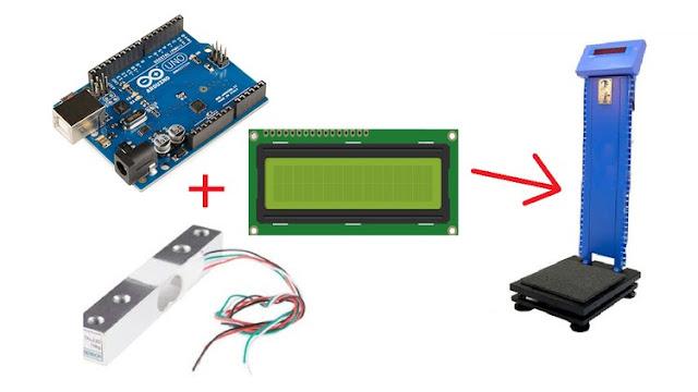 Automatic Weight Measuring Machine using Arduino