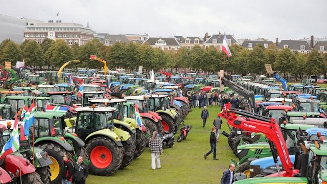 هولندا.. آلاف المزارعين من كل انحاء هولندا يستعدون للتظاهر في دنهاخ