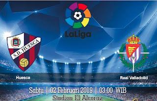 Prediksi Huesca vs Real Valladolid 2 Februari 2019