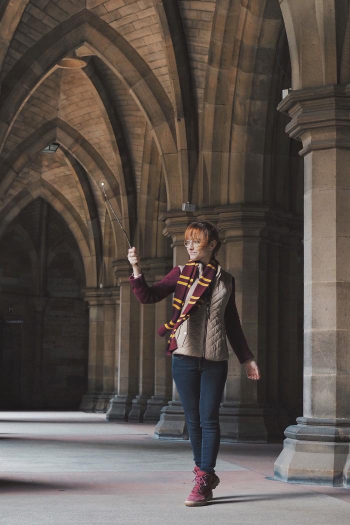 Poudlard à l'université de Glasgow