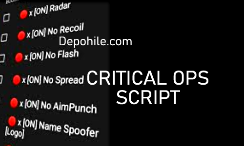 Critical Ops 1.27 Decle Script Radar Hilesi Bansız Eylül 2021