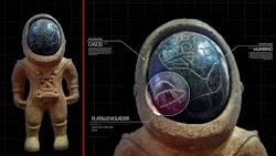 """Στις 26 Απριλίου 2021, ένας χρήστης του Facebook στο εξωτερικό μοιράστηκε μια εικόνα ενός υποτιθέμενου """"ειδώλου 3.000 ετών που βρέθηκε ..."""