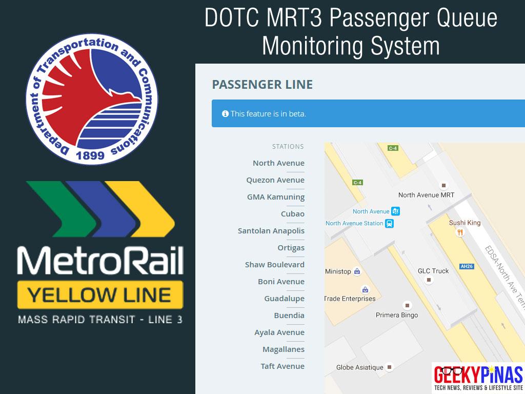 DOTC MRT3 Passenger Queue Monitoring System