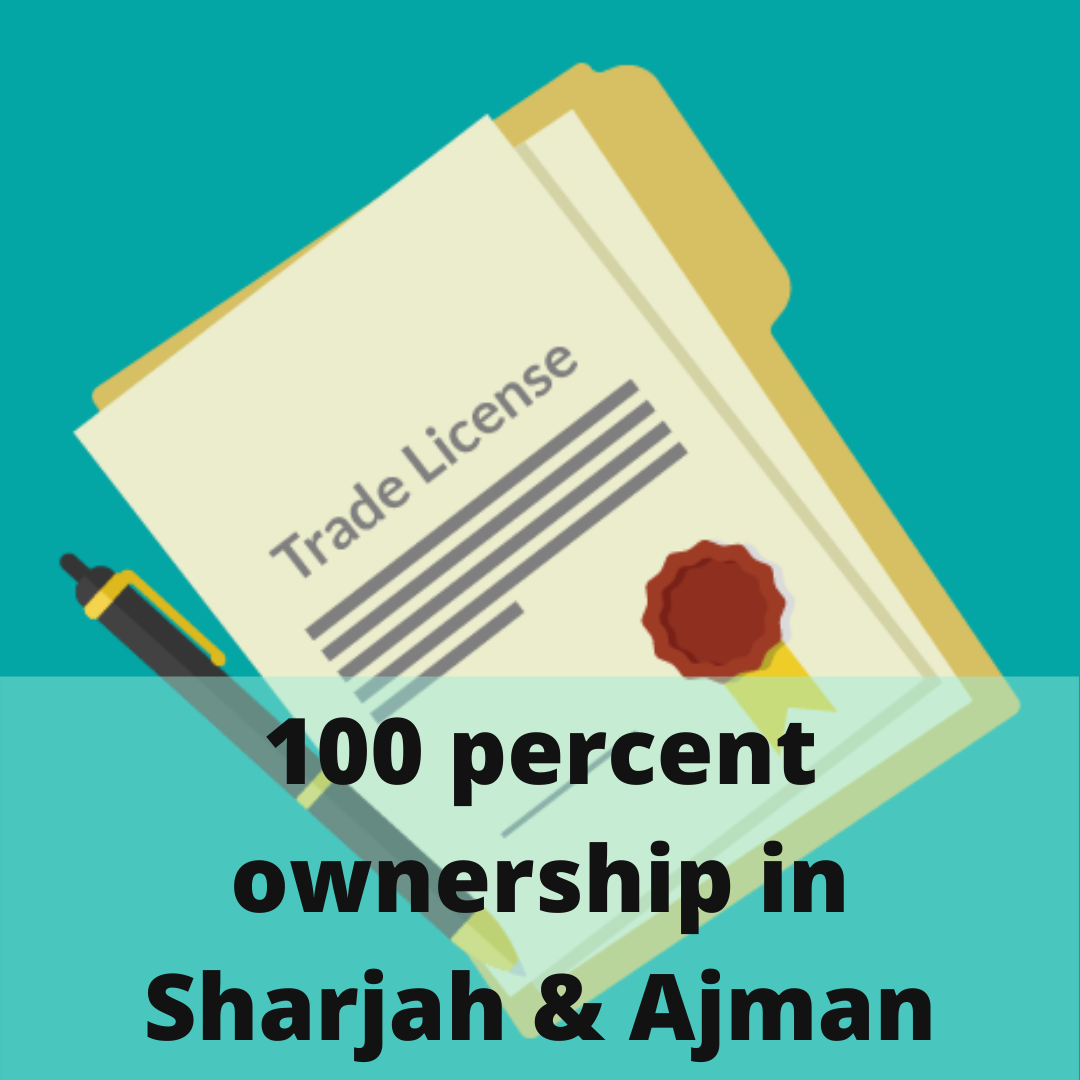 100 percent ownership Trade License in UAE
