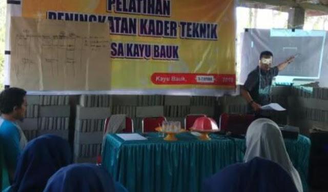 Pemdes Kayu Bauk Selayar, Gelar Pelatihan TPK dan KTD