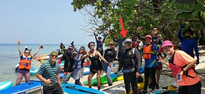 Miris! Situasi Pandemi Corona Rakyat Kesusahan, Rombongan Dirut BP Jamsostek Malah Enjoy Main Padle