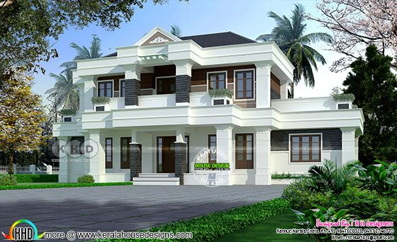 Modern Colonial mix house ₹65 lakhs
