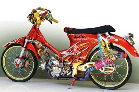 Modifikasi Yamaha Alfa thailokk
