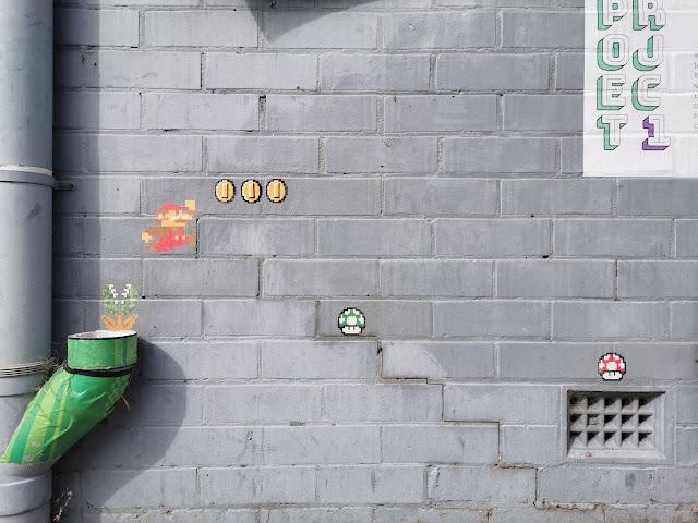 Street Art in Wangaratta, Mario