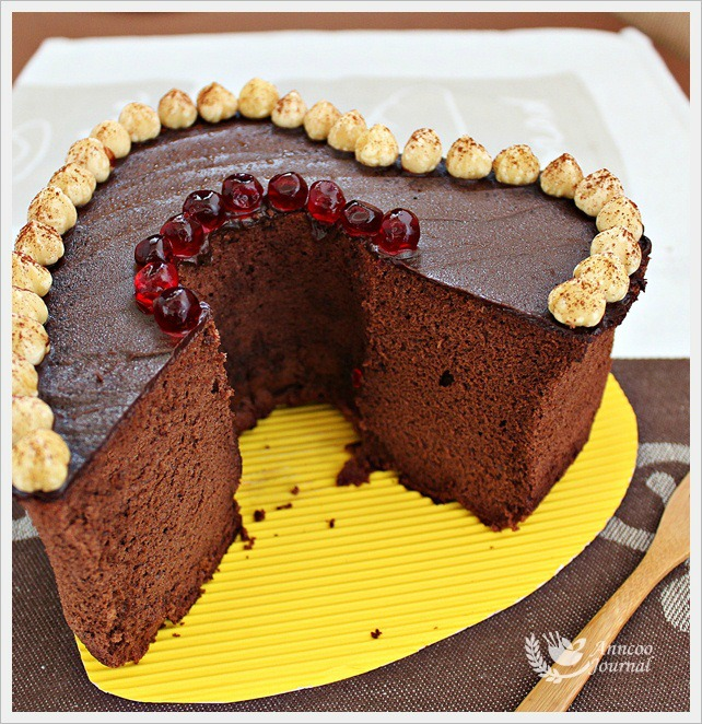 Chocolate Nutella Chiffon Cake - Anncoo Journal