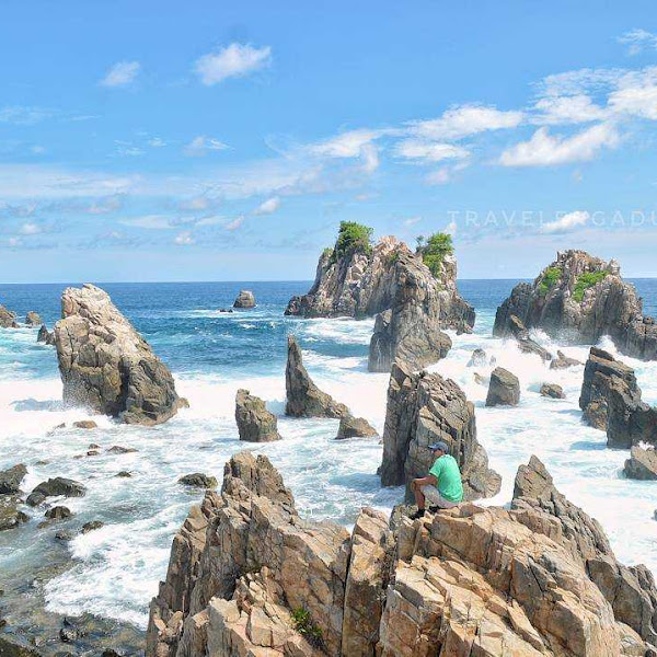 Pantai Gigi Hiu Lampung, Pantai Eksotis dan Instagramable di Lampung