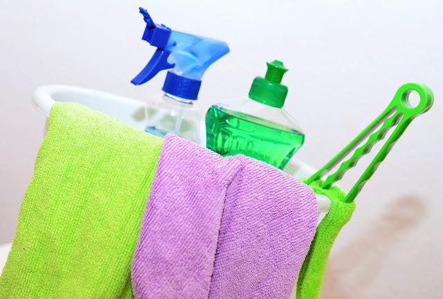 Productos de limpieza para mudanza