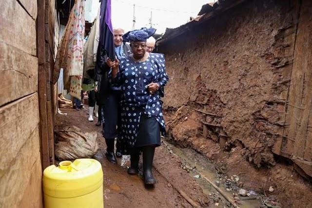 Ngozi Okonjo-Iweala Visit the People of Kibera to Mark her Year of Thanksgiving