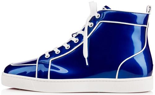 Christian Louboutin zapatillas deportivas azul primavera verano 2017