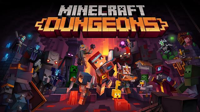 Minecraft Dungeons Hidden Depths DLC Arrives This Month