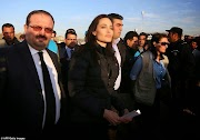 Angelina Jolie Meets Victims of ISIS in Iraq (Photos)