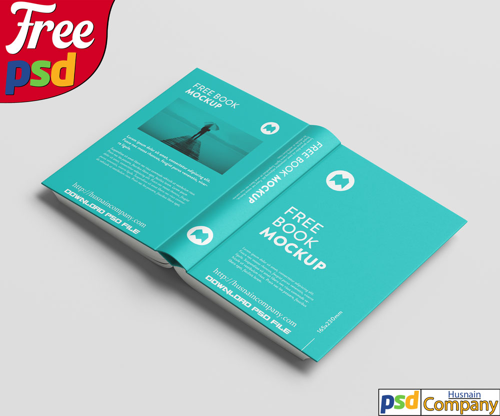Download Free Thick Book PSD Mockup #6