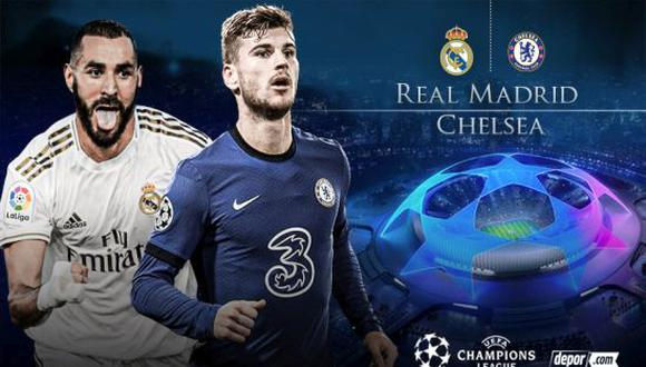 Real Madrid vs. Chelsea EN VIVO por ESPN y Movistar por la Champions League 2021