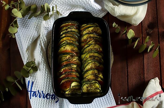 como preparar receta de verduras en microodas
