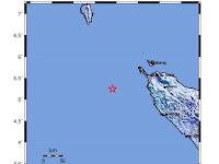 Sabang Diguncang Gempa Magnitudo 4,8