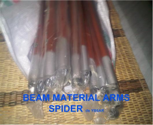 YF1AR yankee foxtrot one alpha romeo: SPIDER BEAM Antenna homemade