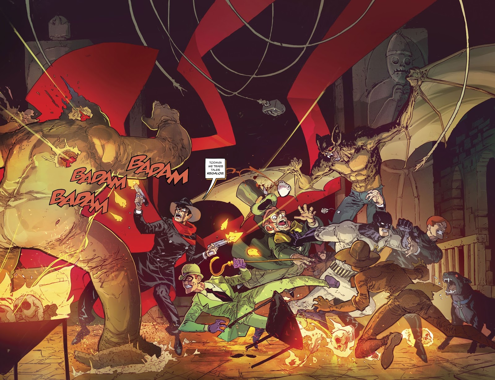 Character Design Tropes : Leer dc comics online batman the shadow