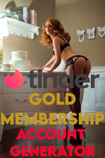 Tinder - Free GOLD Membership [Account Generator]
