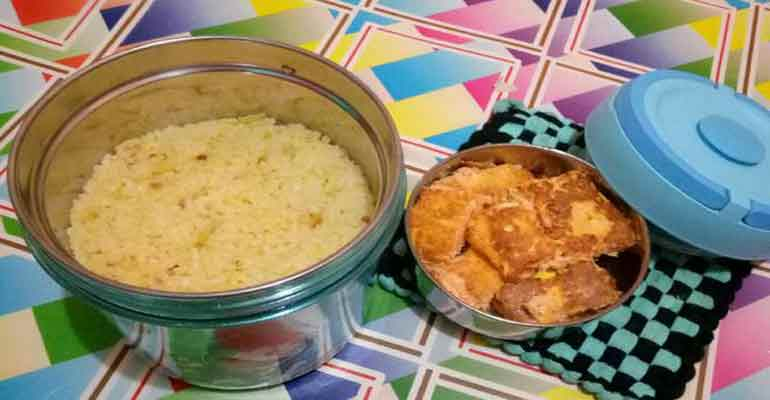 Nasi Orange Sederhana