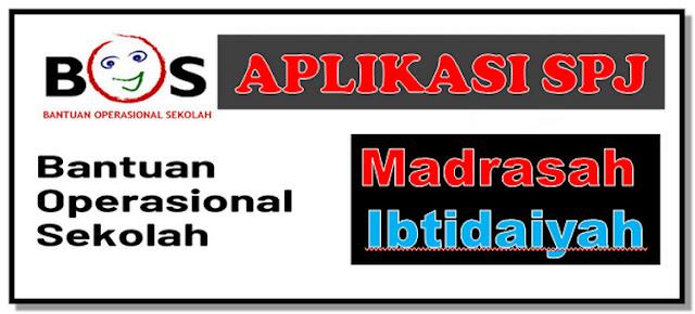 Aplikasi SPJ BOS V.15 untuk Madrasah Ibtidaiyah