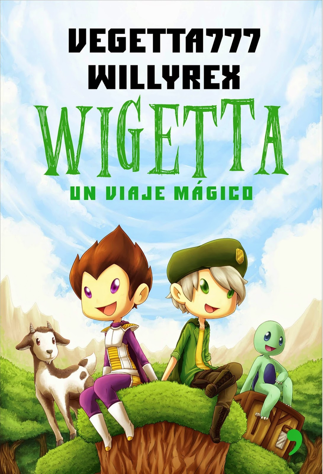 Portada del libro Wigetta Un viaje mágico