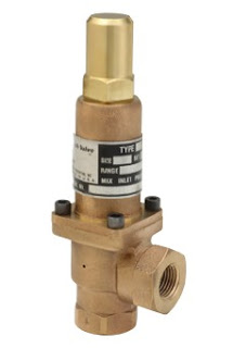 back pressure regulator valve
