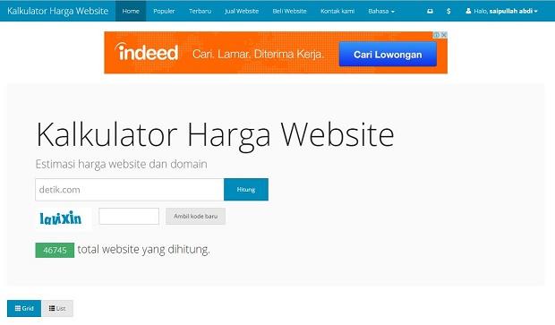 Anda Ingin Mengetahui Harga Sebuah Website Ketika Dijual ? Ini Dia Cara
