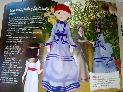 Muñecas y vestidos recortables