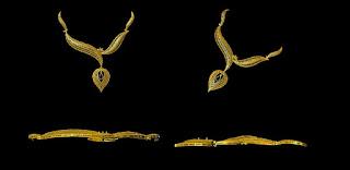 30 grams gold necklace design images