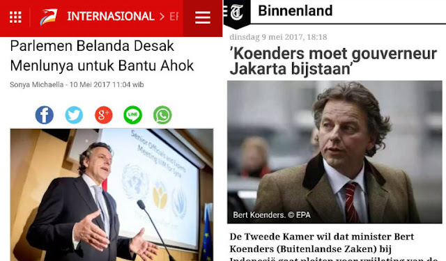 Al Maidah 51 Terbukti 'Mereka Saling Melindungi', Fraksi Uni Kristen Desak Belanda Bantu Ahok
