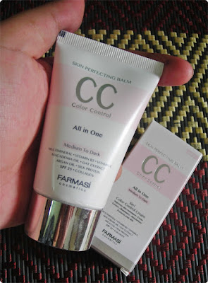 Farmasi CC Cream - Medium to Dark
