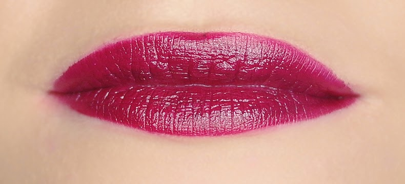 Milani Color Statement Black Cherry Lipstick Swatch