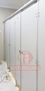 Cubicle Toilet Stasiun Kotalama Malang