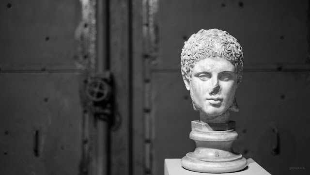 Ritratto esposto al Museo Montemartini, Roma