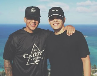 Jeremy Ayala Gonzalez picture with his father Daddy Yankee