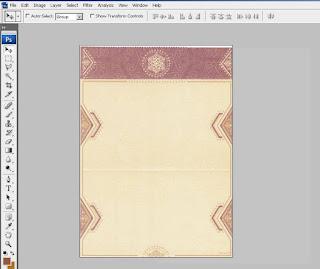 Cara Membuat Undangan Pernikahan dengan Photoshop Menggunaan Kertas Blanko Undangan