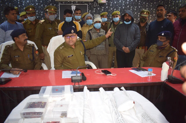 5 gangsters of D27 gang arrested, three absconding