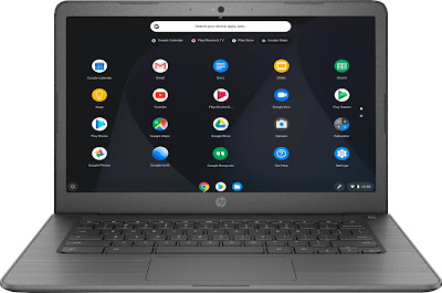 """HP 14"""" Touch-Screen Chromebook - Model: 14-CA061DX 
