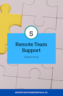 Remote Team Support - 5 Areas