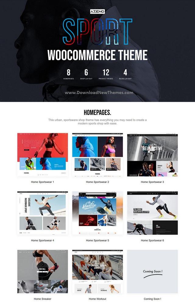 Sport Store WooCommerce Theme