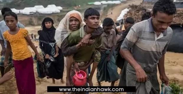 Myanmar Rohinya Refugees towards India